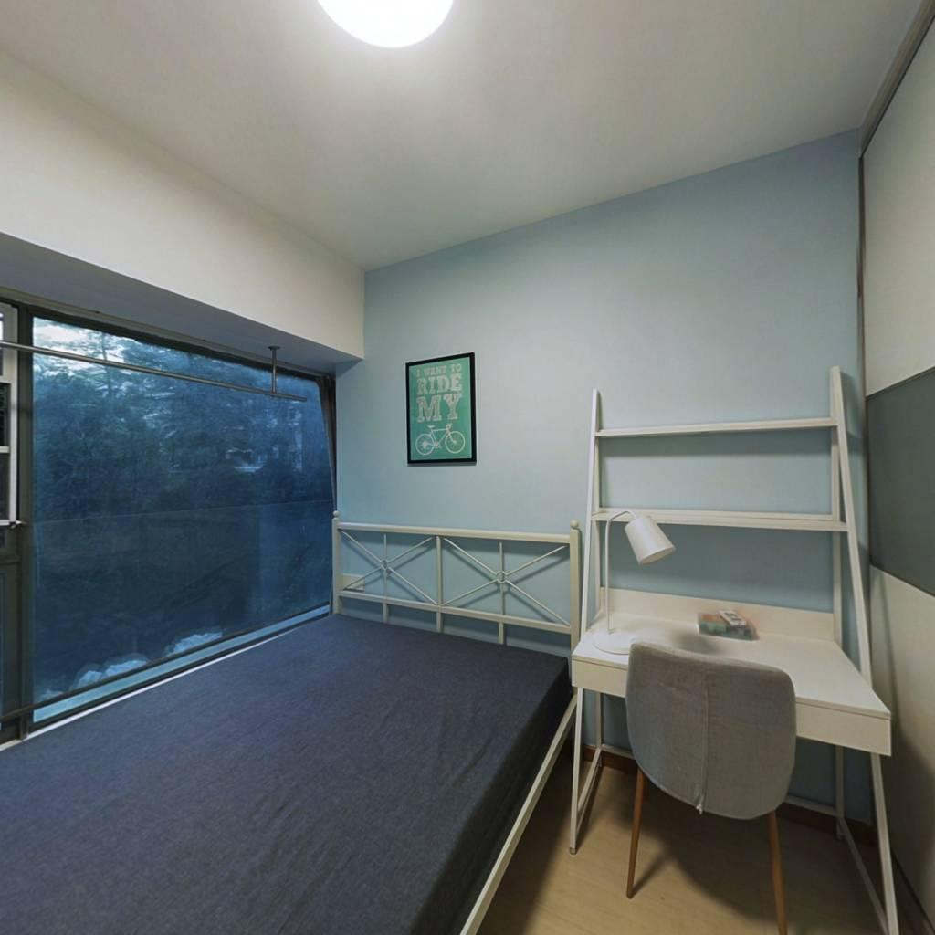 合租·富基广场 3室1厅 北卧室图