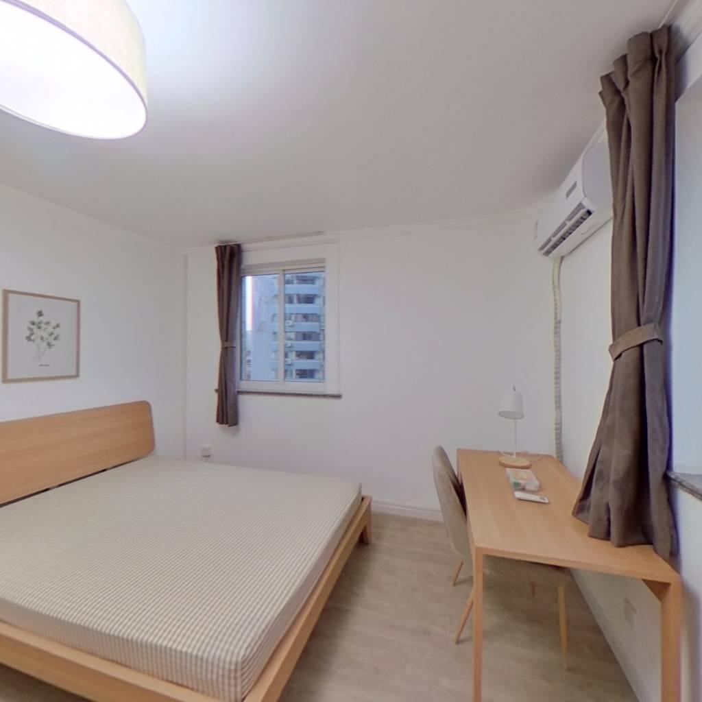 合租·南天大厦 3室1厅 西卧室图