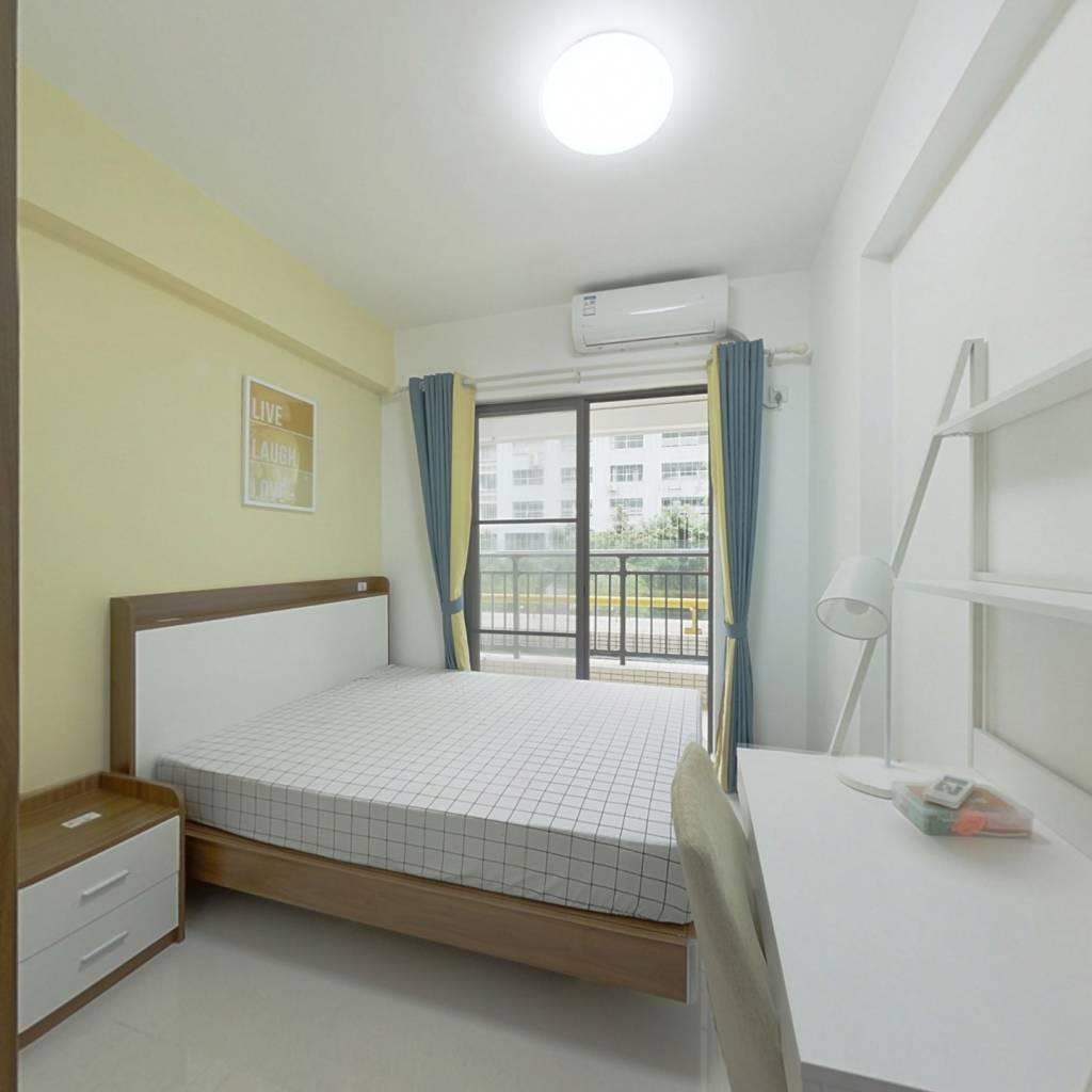 合租·小新塘大未来 4室1厅 南卧室图