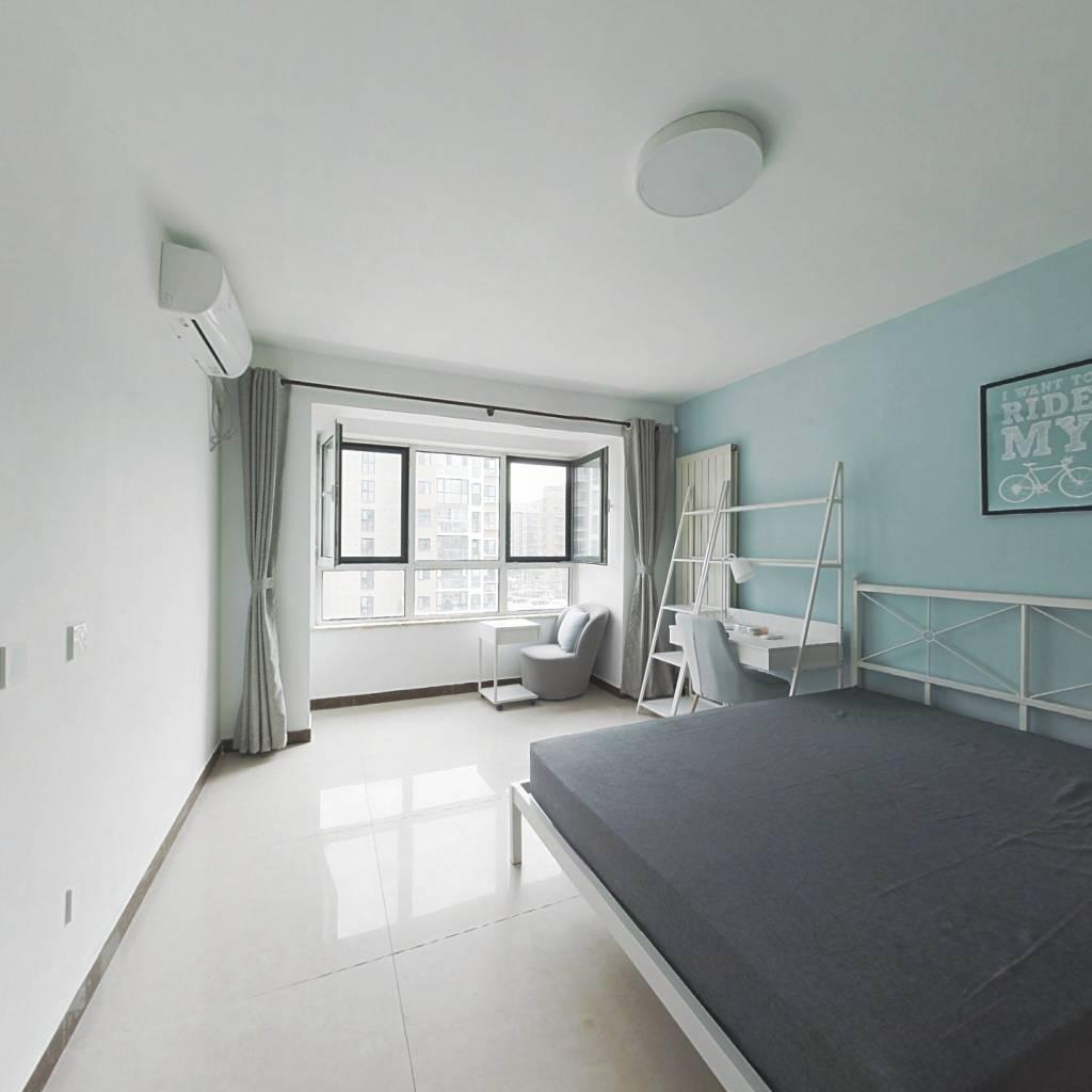 合租·康营家园十五区 3室1厅 北卧室图