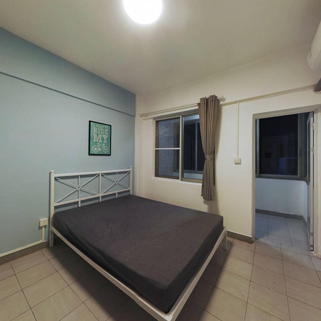 合租·今日丽舍 3室1厅 南卧室图