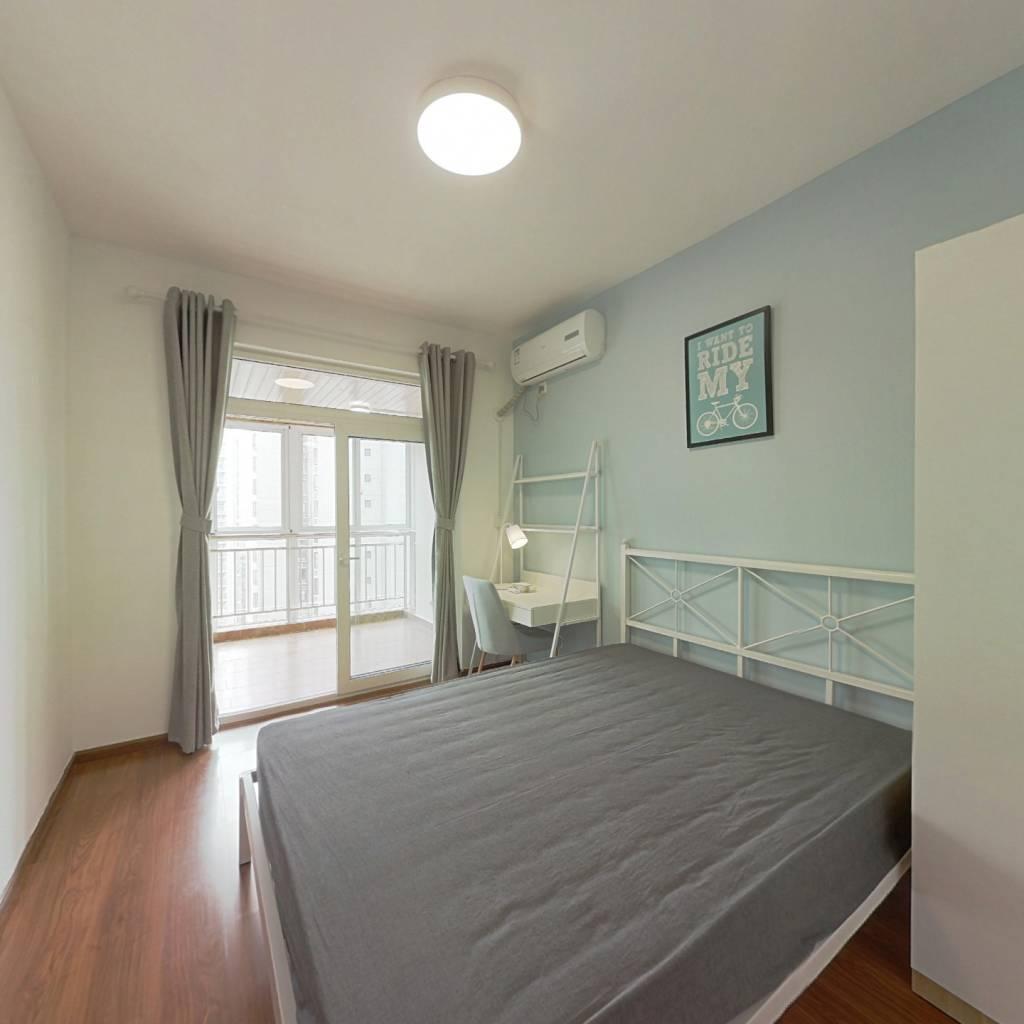 合租·蓝谷地天域 4室1厅 西卧室图