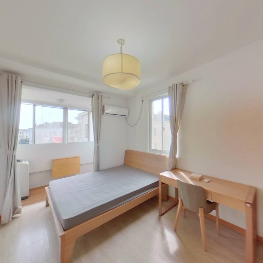 整租·上南六村 2室1厅 南卧室图