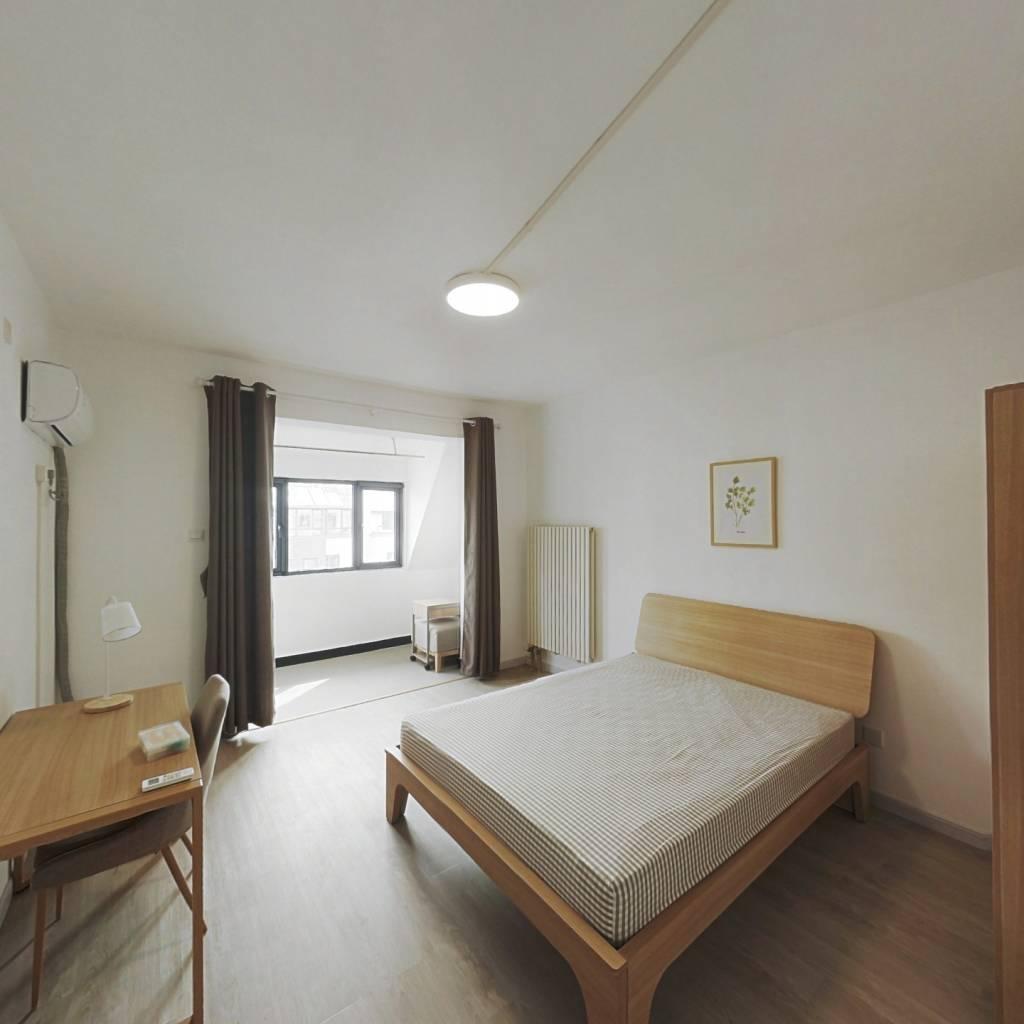 合租·宝翠花都探景园 3室1厅 北卧室图