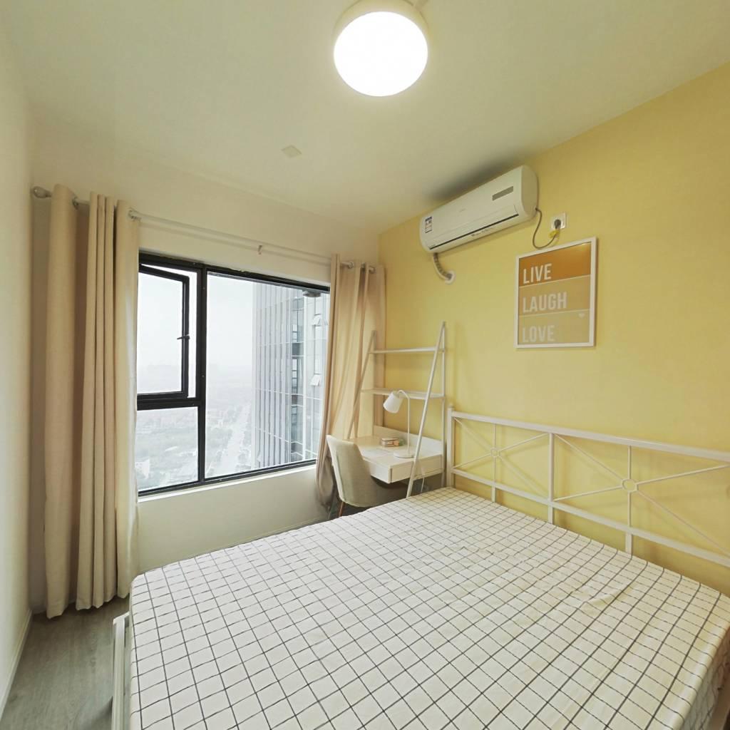 合租·戛纳湾金棕榈 4室1厅 西卧室图