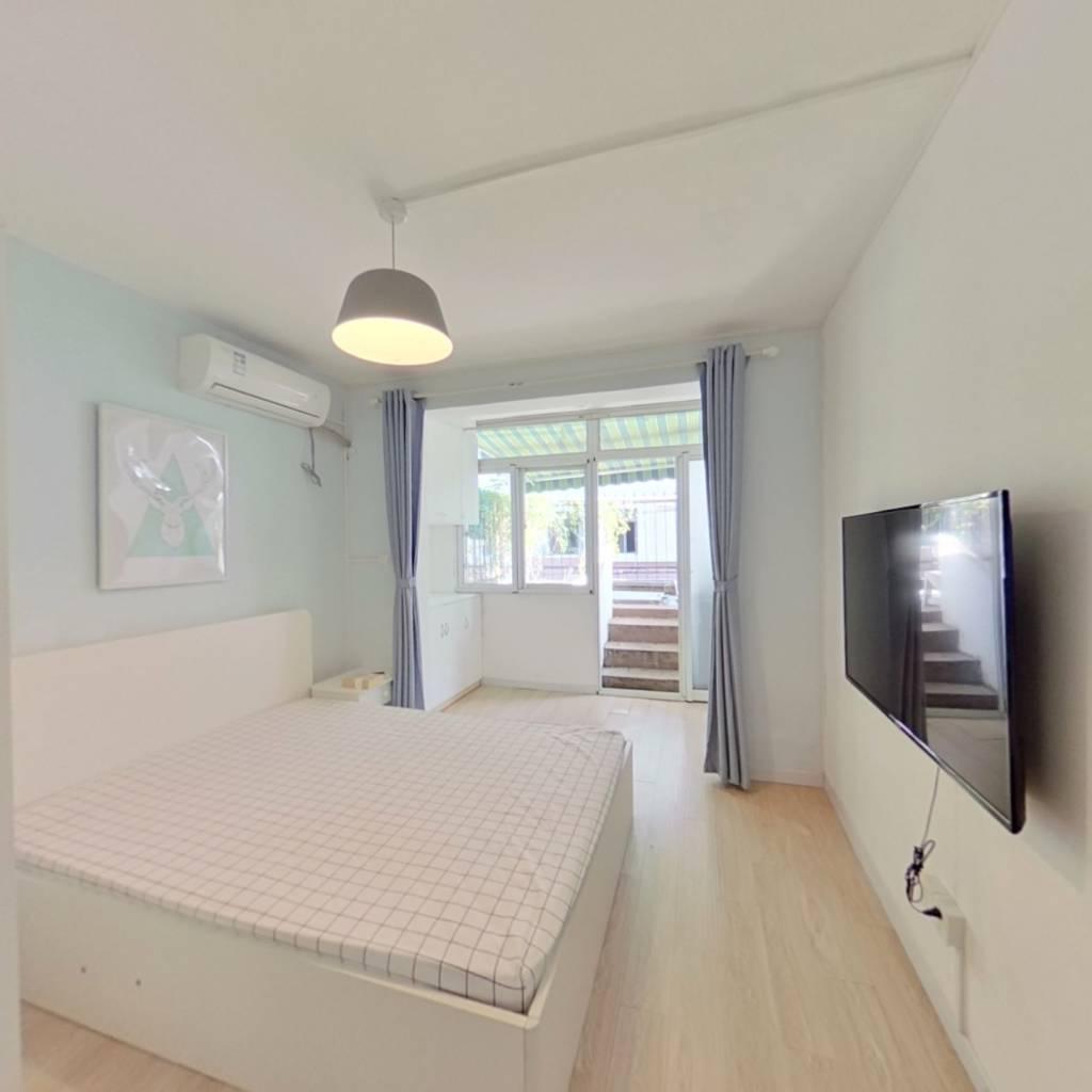 整租·南长小区 1室1厅 南卧室图