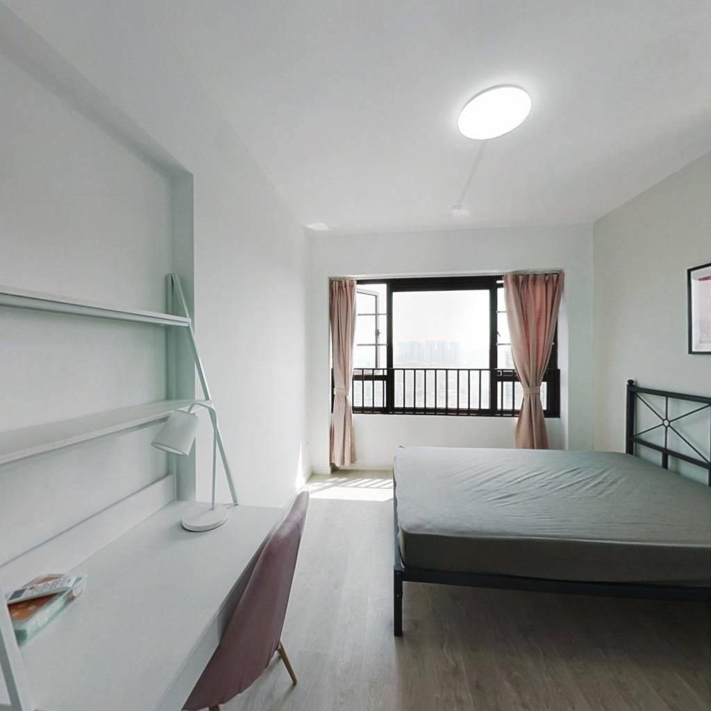合租·拾悦城 4室1厅 西南卧室图