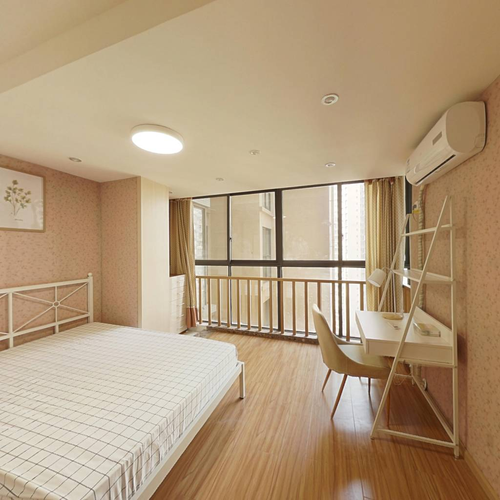 合租·御廷上郡 4室1厅 北卧室图