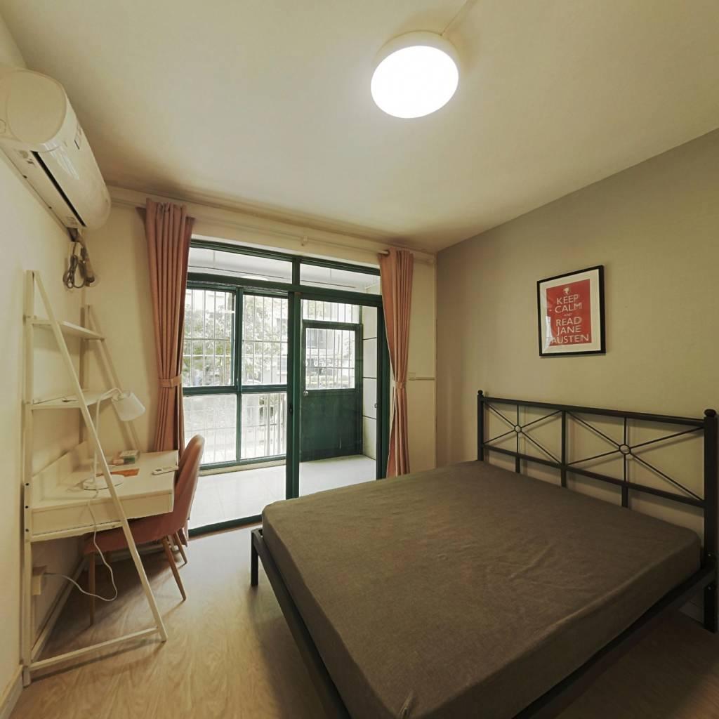 合租·上南花城 4室1厅 南卧室图