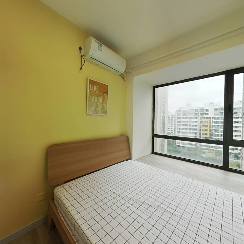 合租·城中花园 3室1厅 北卧室图
