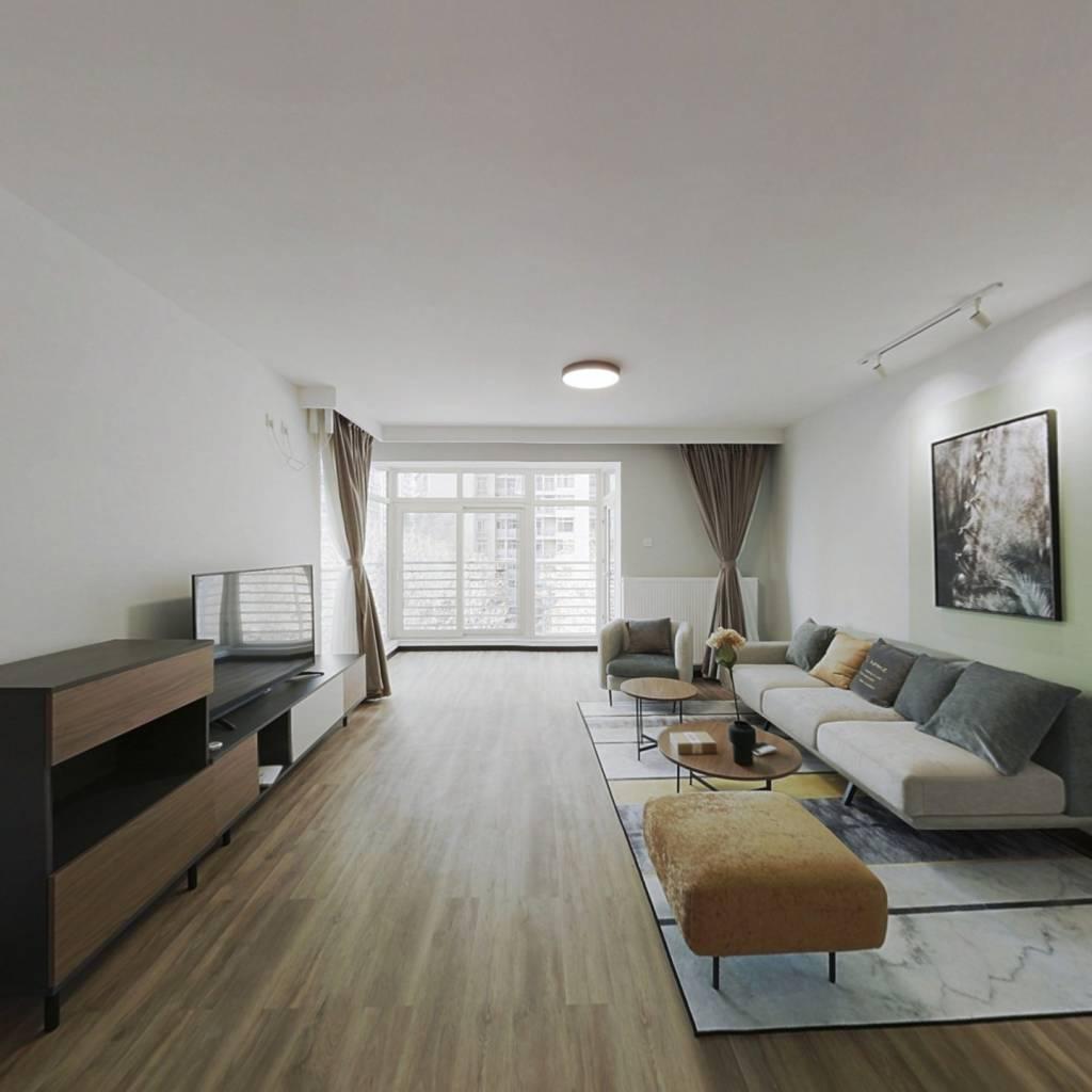 整租·远洋天地二期 2室1厅 西南卧室图