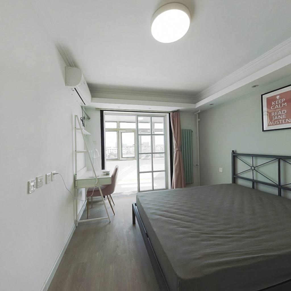 合租·华龙苑中里 3室1厅 北卧室图