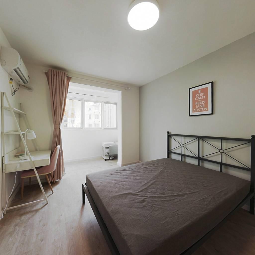 合租·汇景家园汇福苑 3室1厅 南卧室图