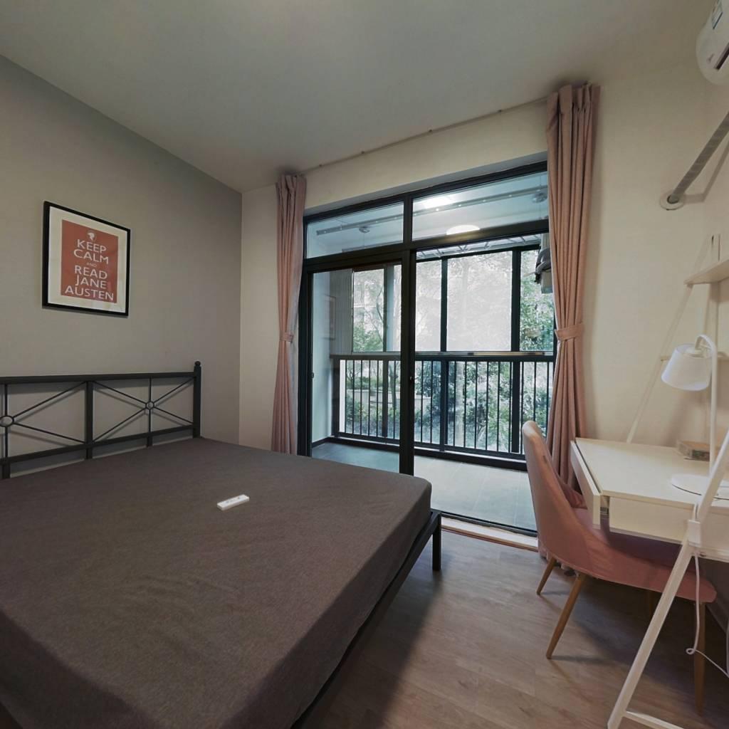 合租·云河西园 3室1厅 南卧室图