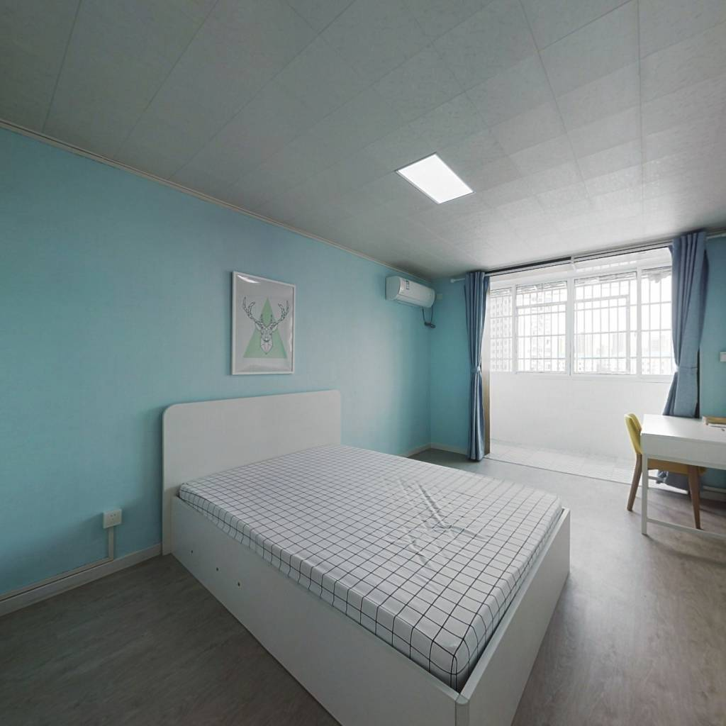 整租·海防新村 2室1厅 南卧室图