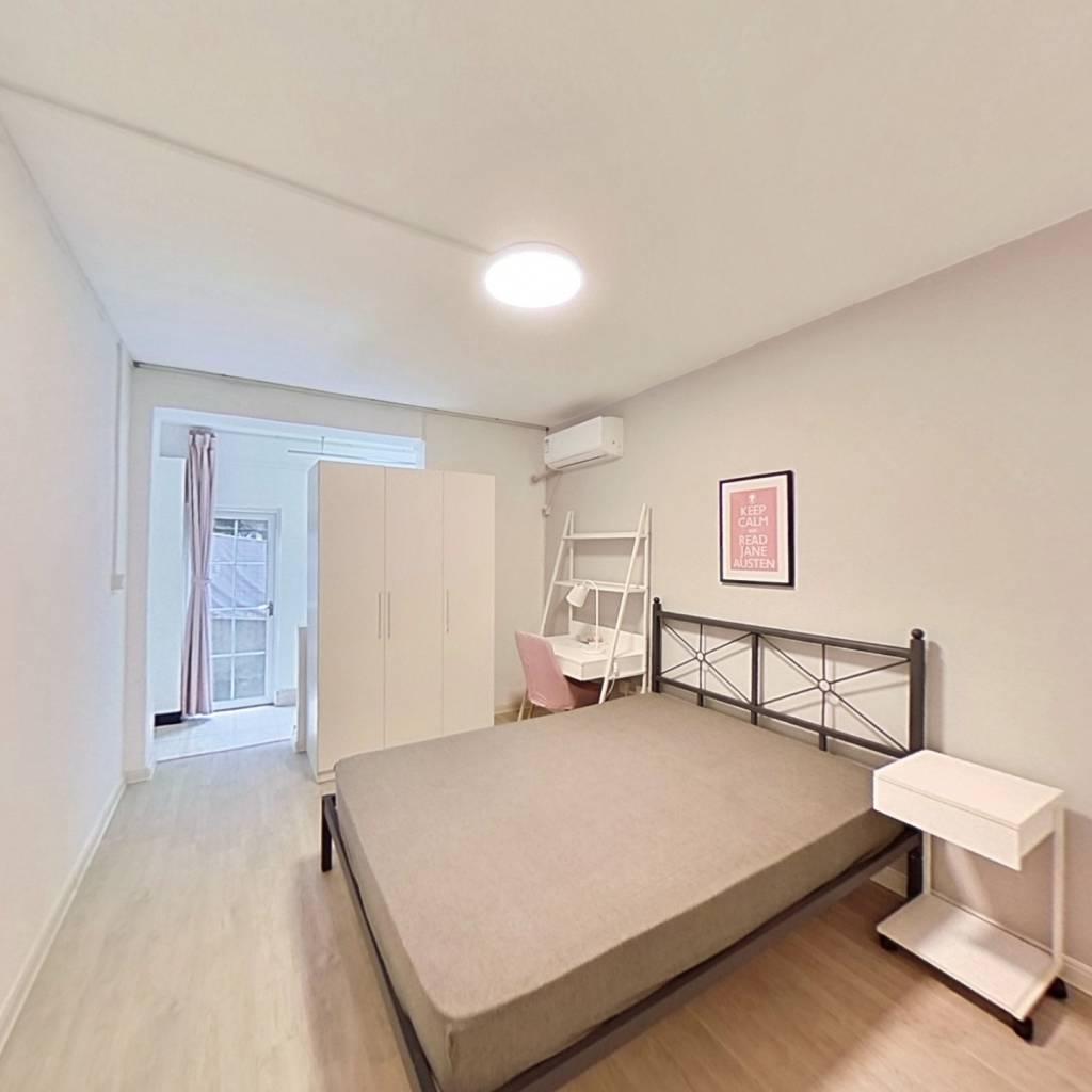 合租·马市街 2室1厅 南卧室图