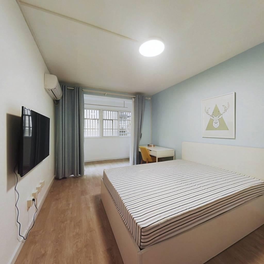 整租·鼓教新村 2室1厅 南卧室图