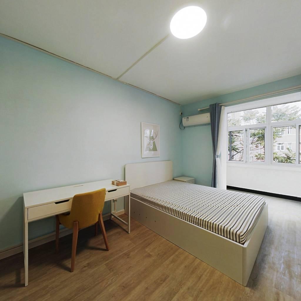 整租·裕中西里 2室1厅 南北卧室图