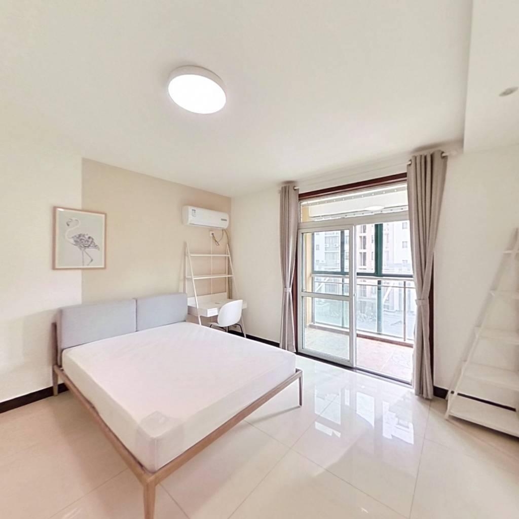 合租·金王府 4室1厅 南卧室图