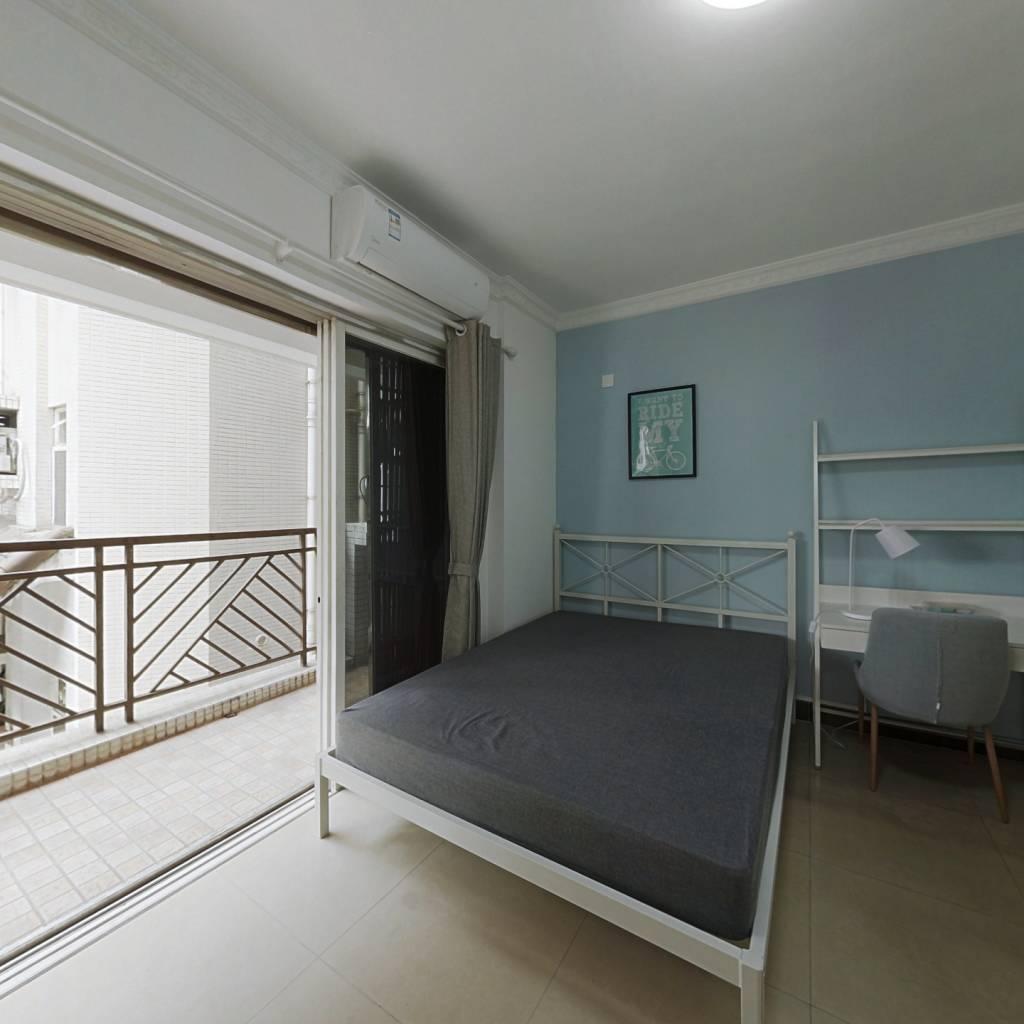 合租·时代花园 4室1厅 北卧室图