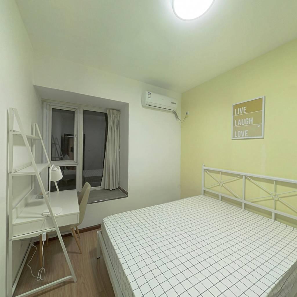 合租·家益欣城 4室1厅 北卧室图