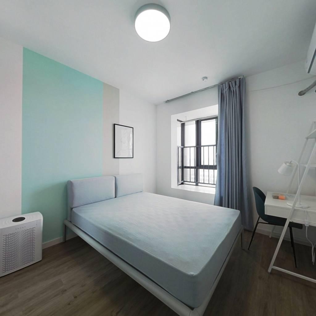 合租·钱江二苑 4室1厅 北卧室图