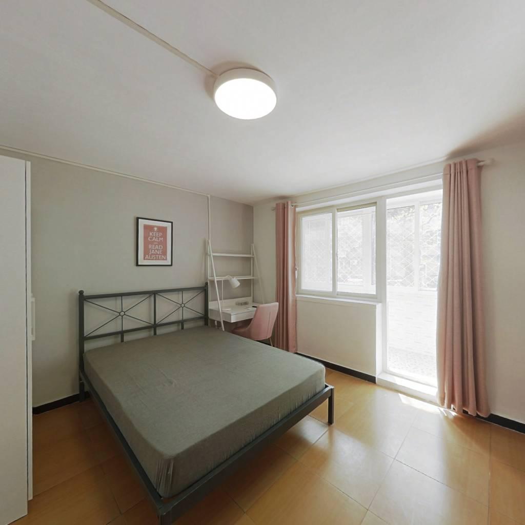 合租·车道沟南里 3室1厅 北卧室图