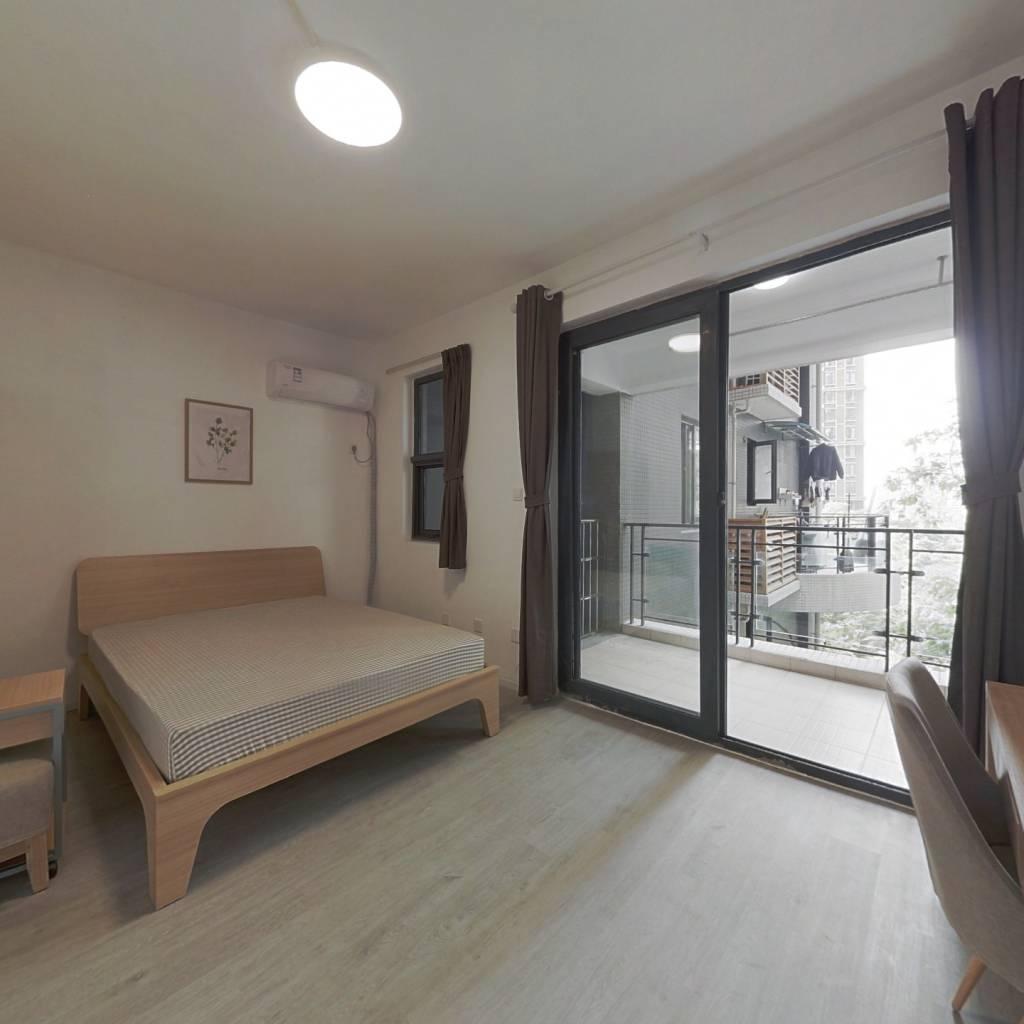 合租·浅水半岛二期 4室1厅 西北卧室图