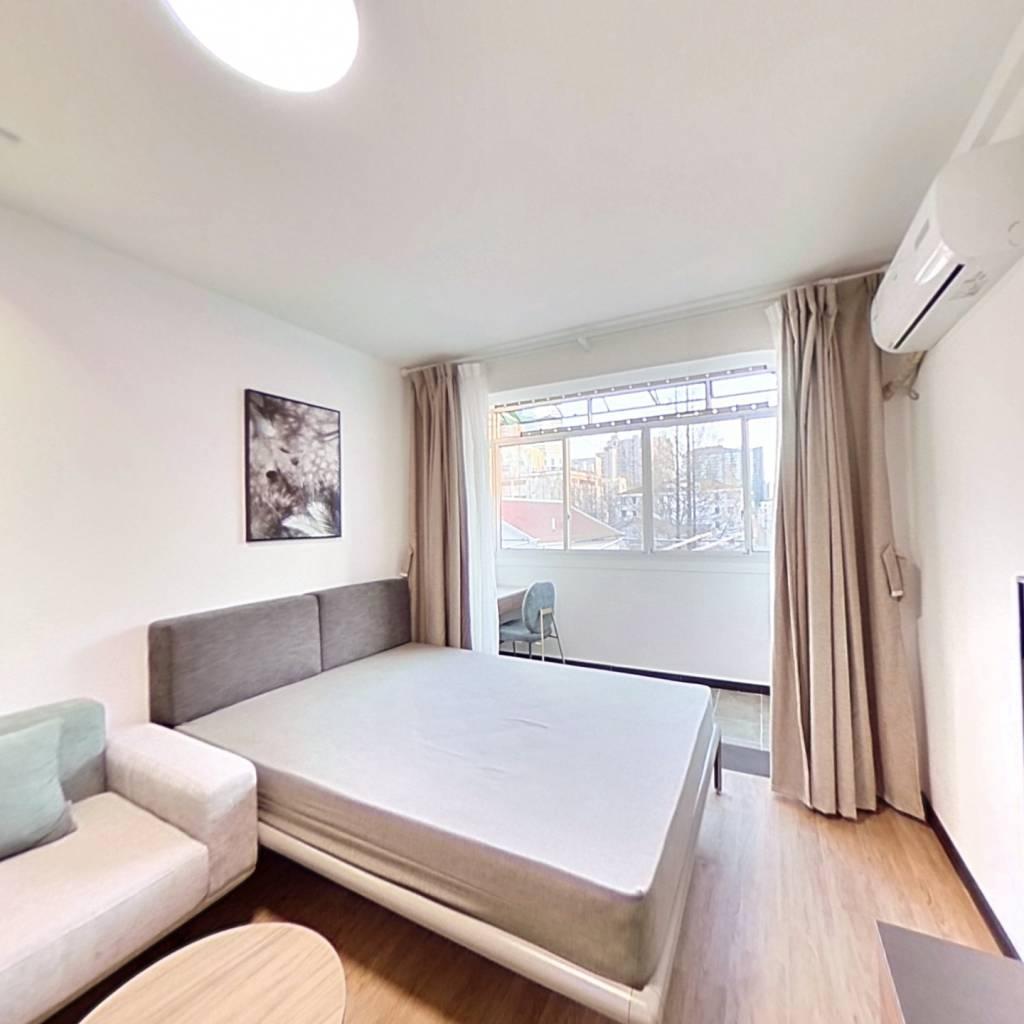 整租·利安小区 1室1厅 南卧室图