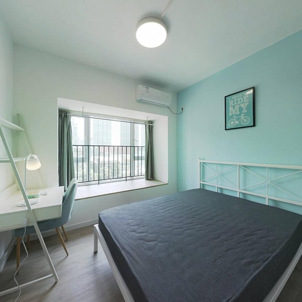 合租·首创天禧68 3室1厅 东南卧室图