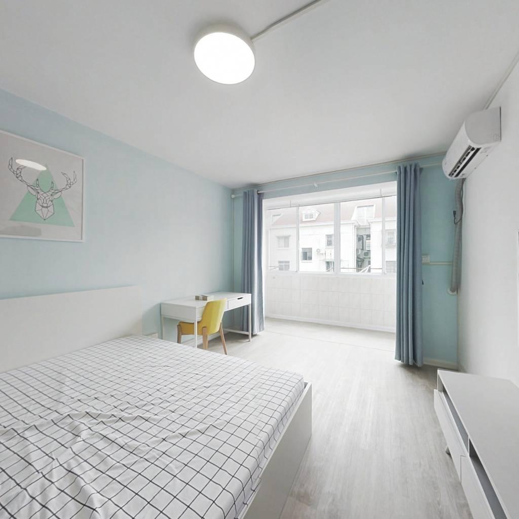 整租·黄山新村 1室1厅 南卧室图