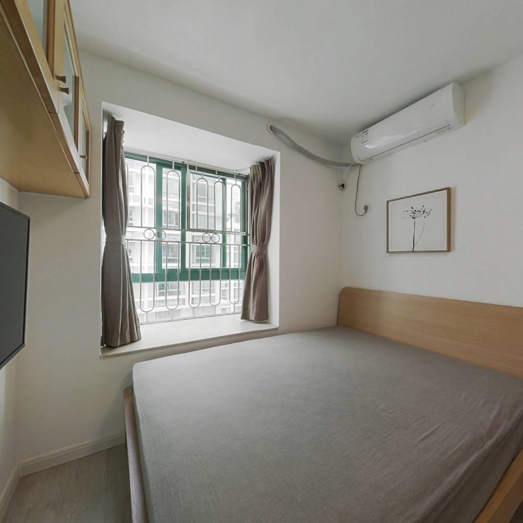 整租·皇御苑一期 1室1厅 南卧室图