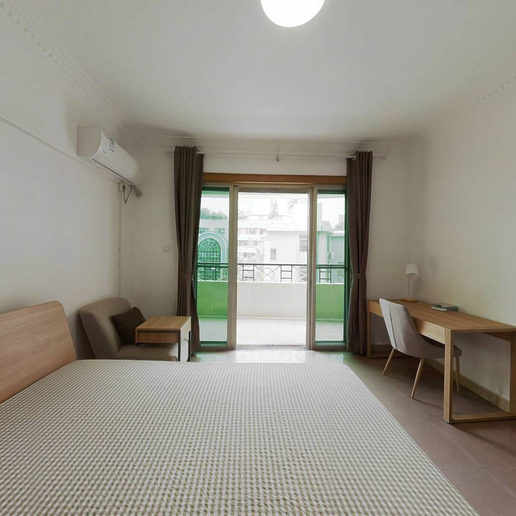 合租·恒骏花园 4室1厅 西卧室图