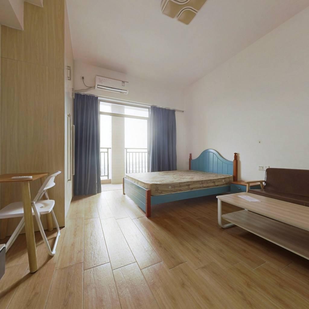 碧水湾单身公寓,高楼层,家电齐全,直接拎包入住