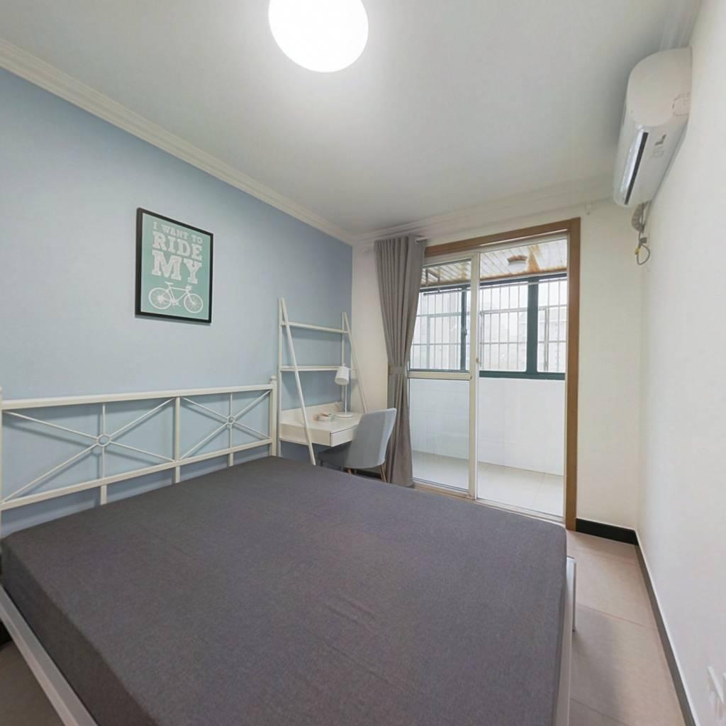 合租·仙居华庭 4室1厅 南卧室图