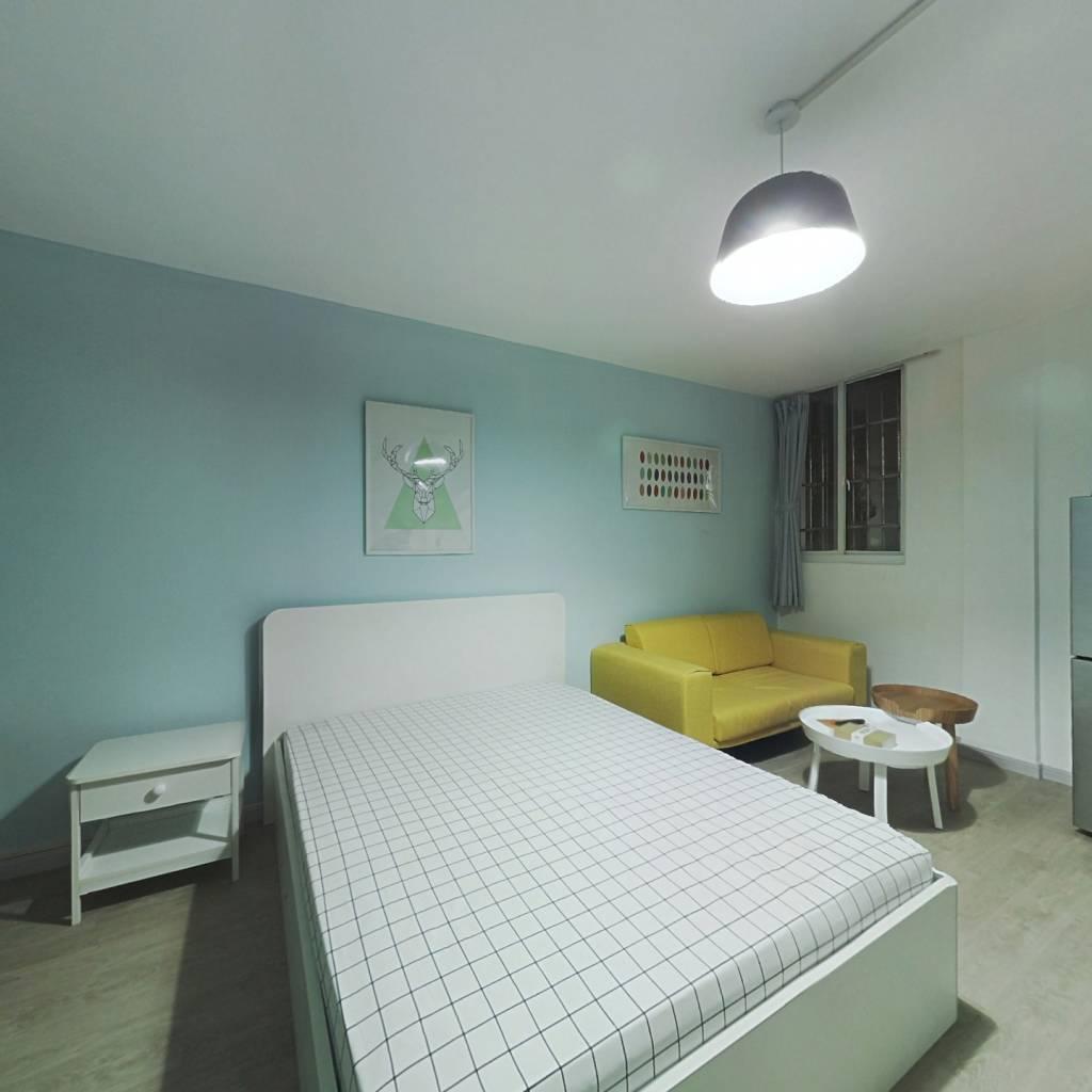 整租·河滨大楼 1室1厅 北卧室图