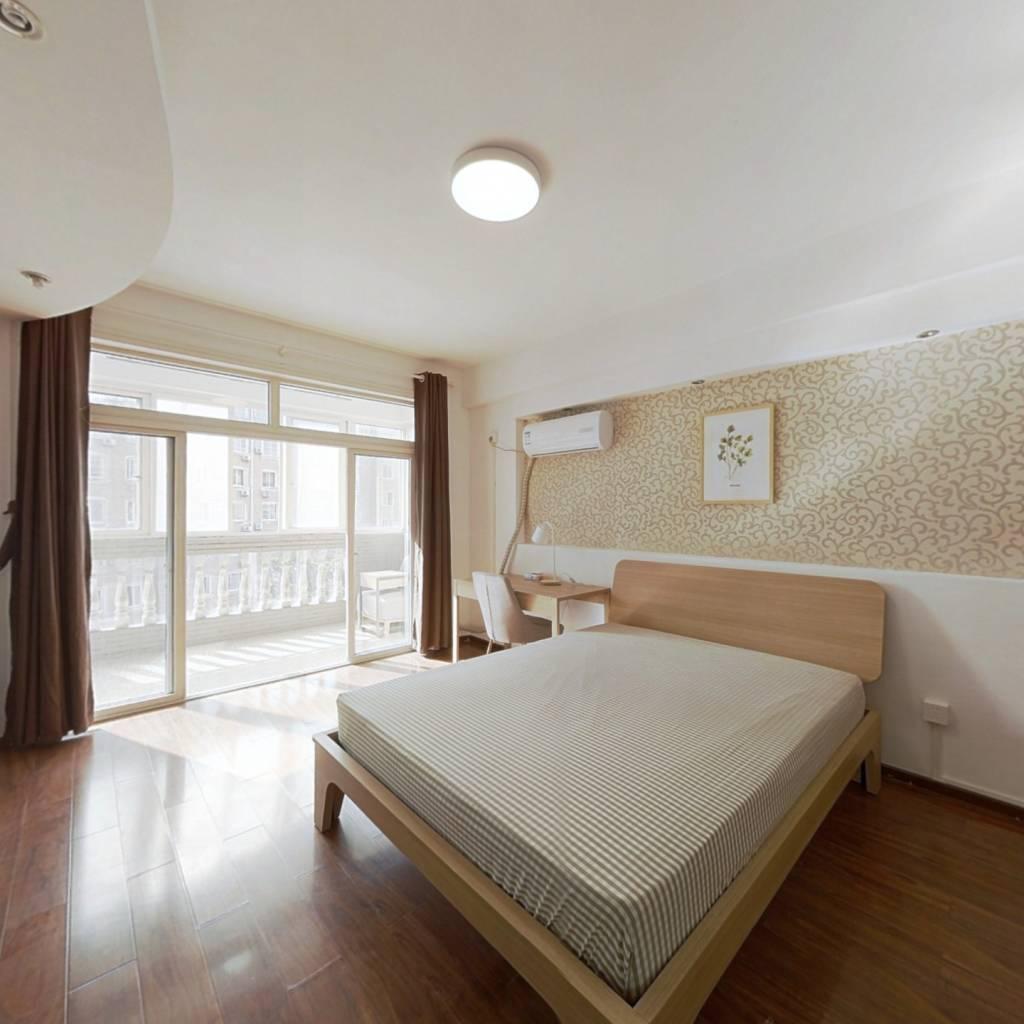 合租·新世纪都市花园梅园 4室1厅 南卧室图