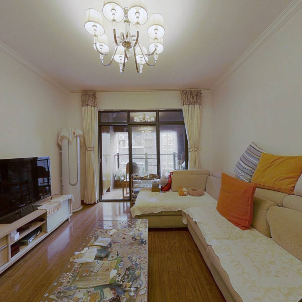 华润精装房 双阳台,自住装修保养好 带全套家具家电