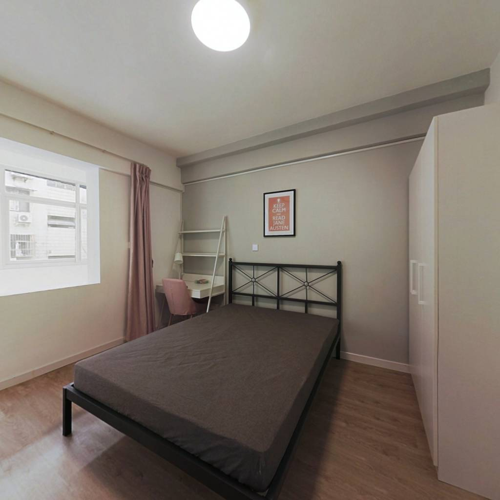 合租·玉带园 3室1厅 南卧室图