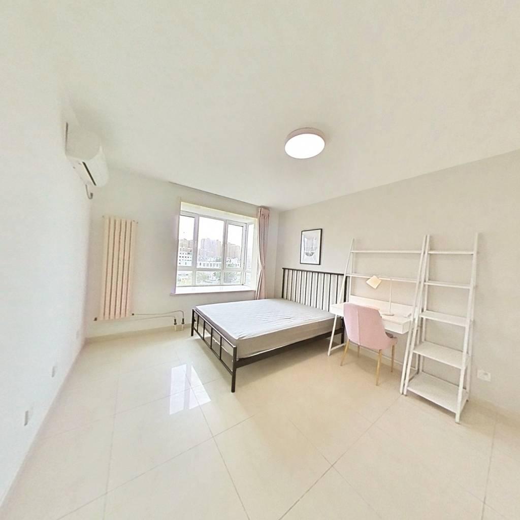 合租·京品小区 4室1厅 北卧室图