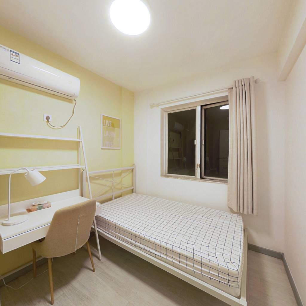 合租·岭南新世界 3室1厅 北卧室图