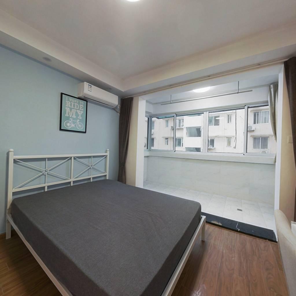 合租·南都花园一区 4室1厅 南卧室图