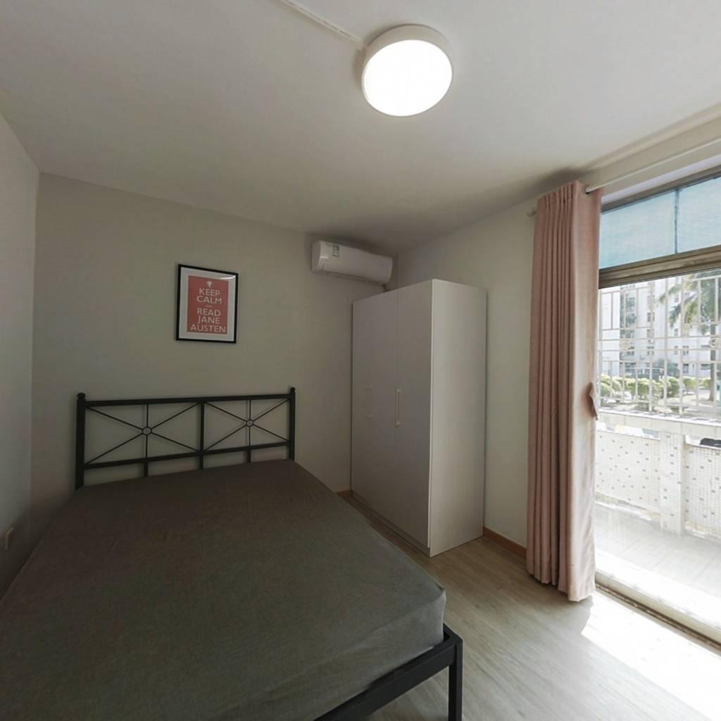 合租·愉康花园 3室1厅 东卧室图