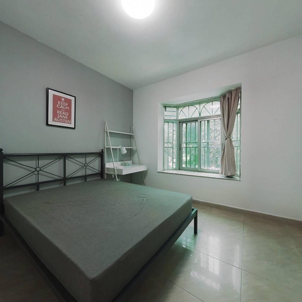 合租·神彩苑 3室1厅 北卧室图