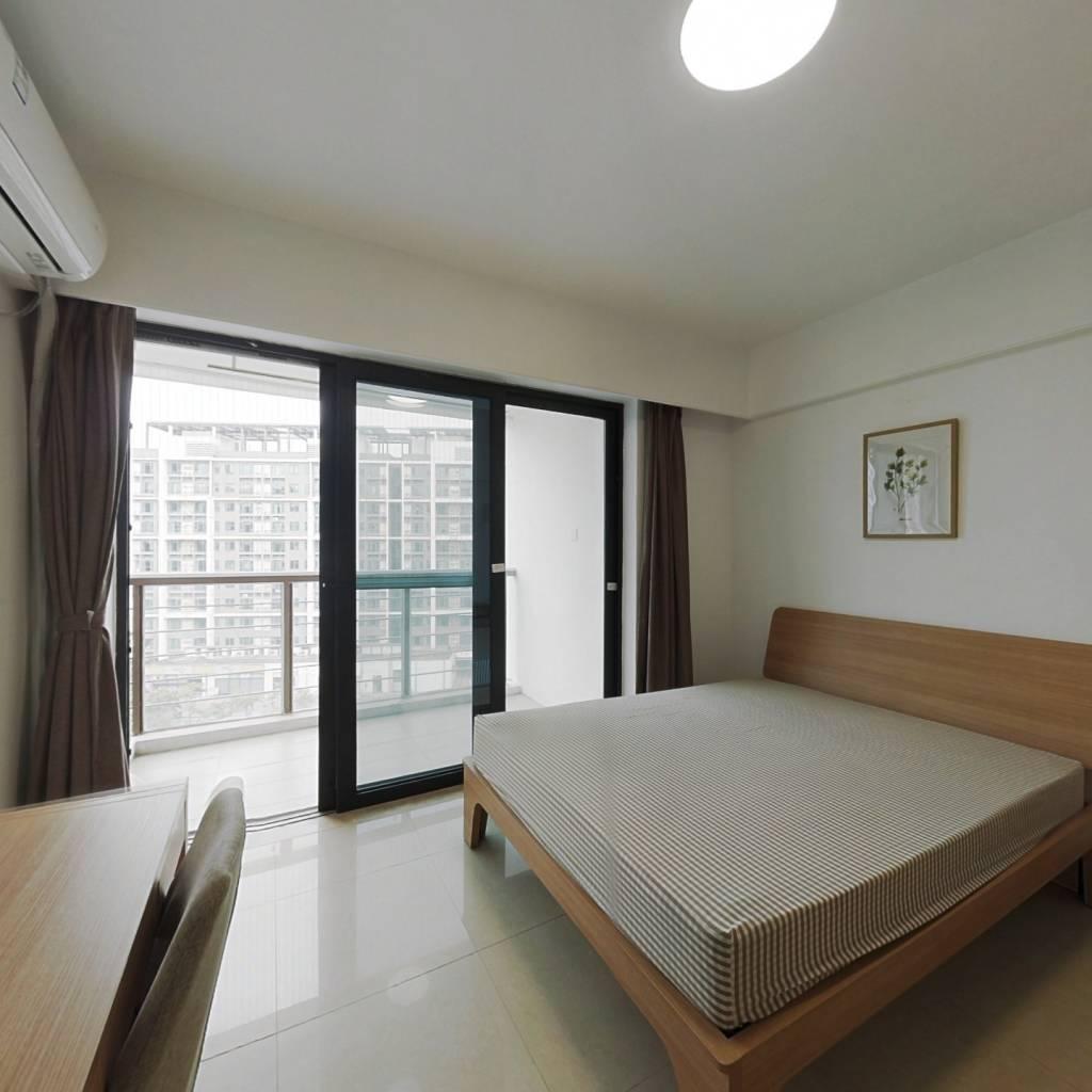 合租·亚运城运动员村二区 4室1厅 西北卧室图