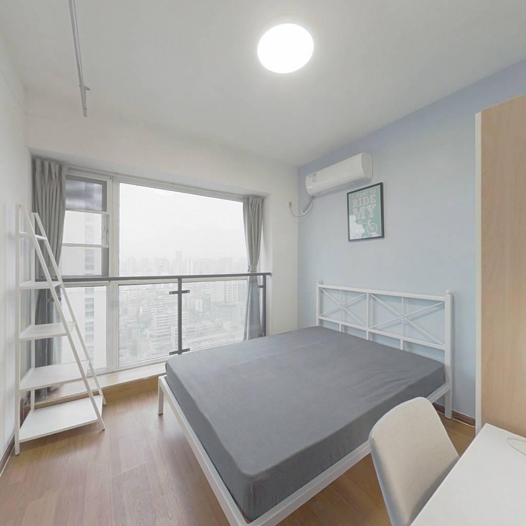 合租·大王钰城 3室1厅 西北卧室图