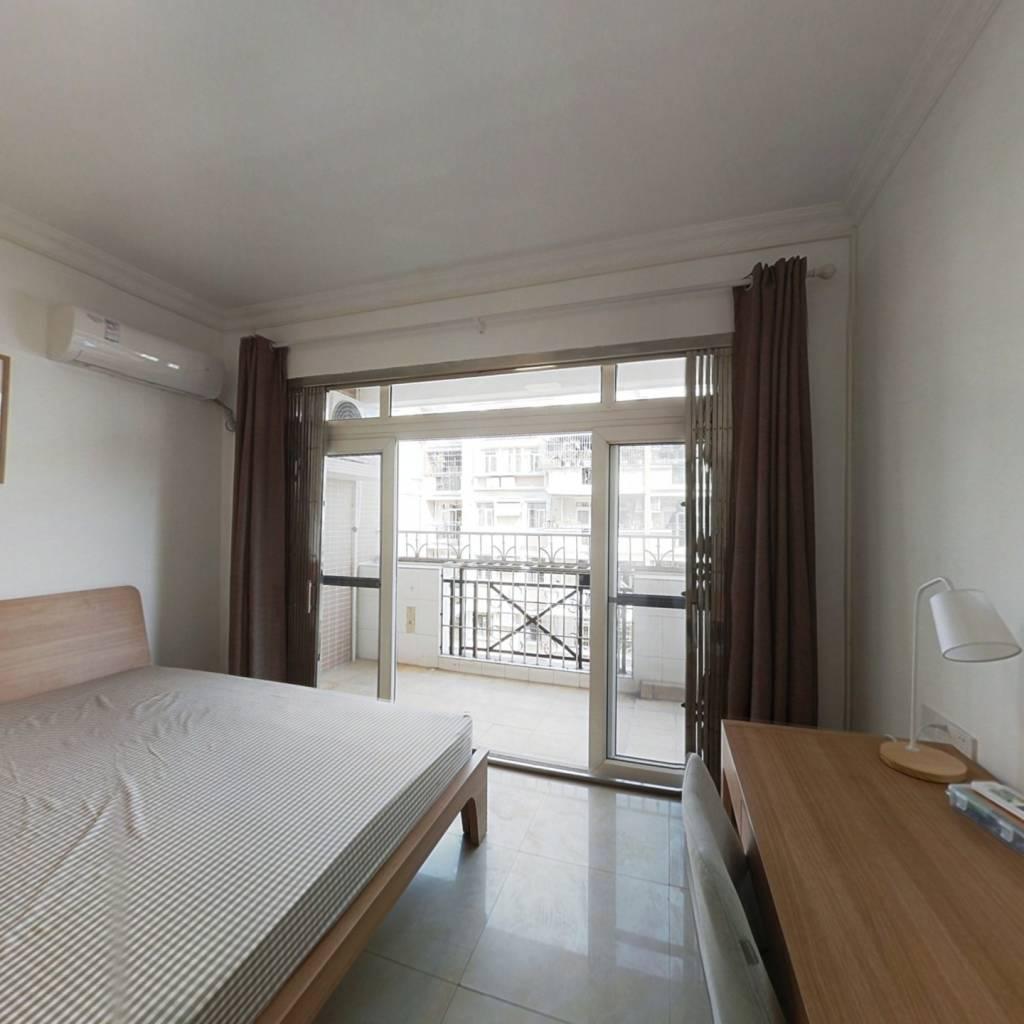 合租·芳华花园洛涛居南区 4室1厅 东北卧室图