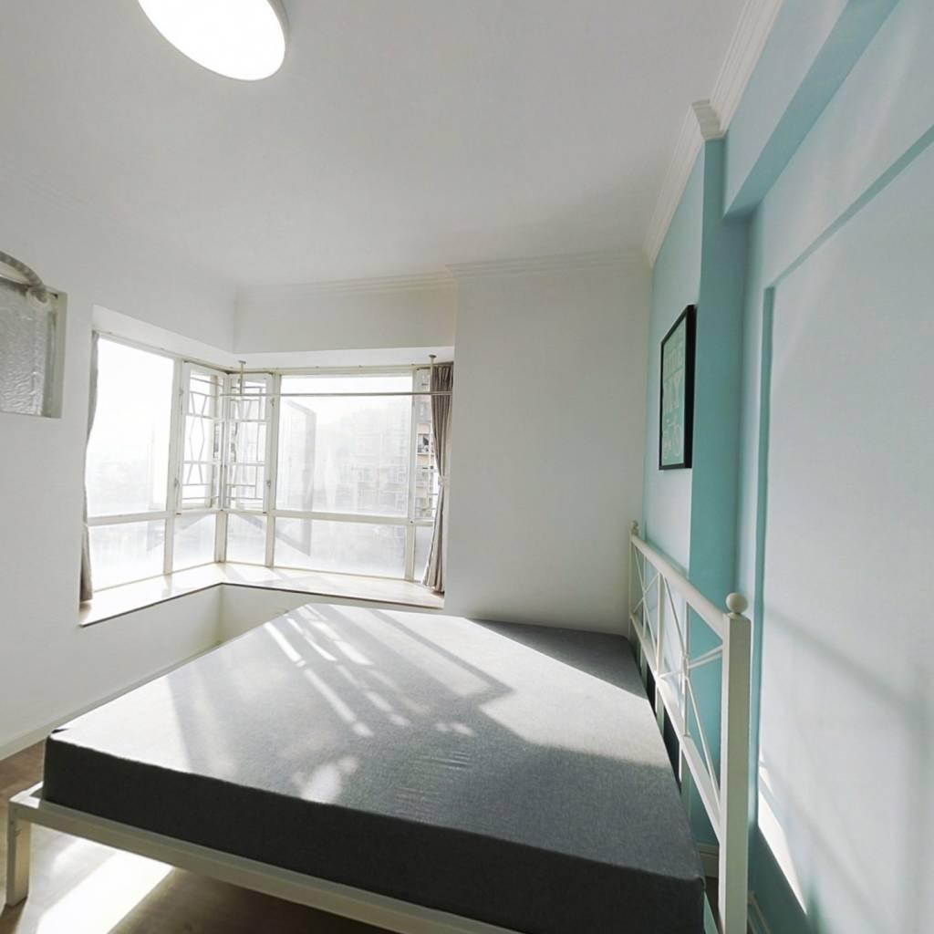 合租·富力天朗明居 4室1厅 东卧室图