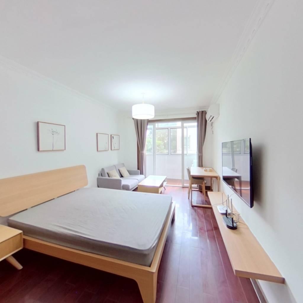 整租·欧五小区 2室1厅 南卧室图
