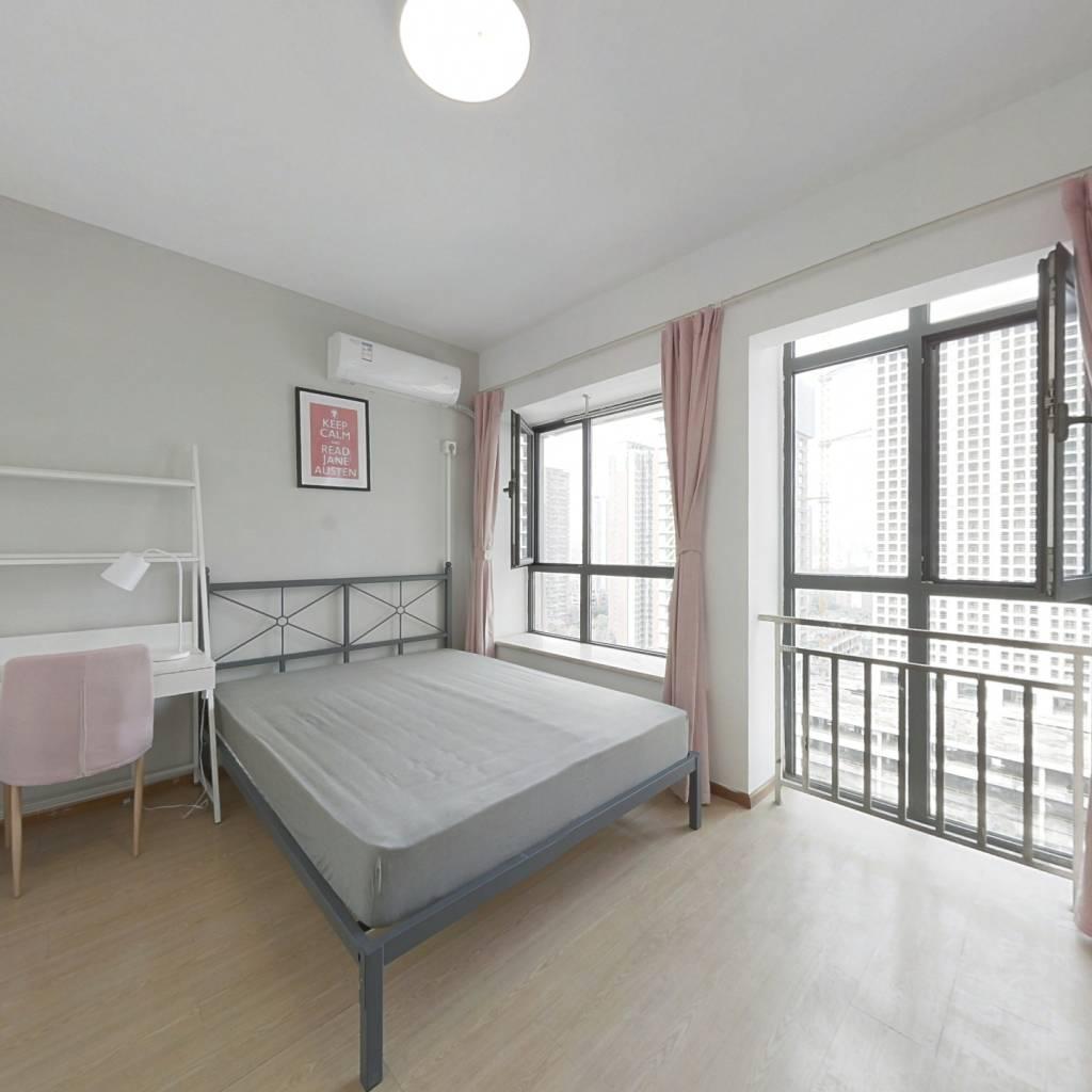 合租·首创爱这城三期 4室1厅 南卧室图